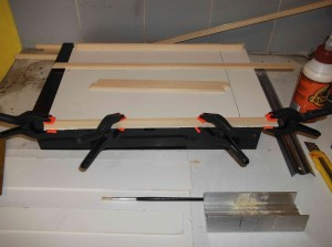 Baseboard under construction