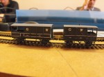 GW Brake vans from etched kits