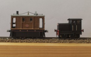 Gareth also had his tram from an N Drive whitemetal kit plus a diminutive Ruston 48DS from an Etched Pixels 3D print.