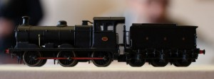 Gareth's has been as prolific as ever - here are his latest models (in descending order of size).   First up a LNER J17 from a Stelfox etch with tender drive utilising the Dapol Terrier chassis.
