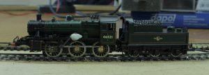 Nigel's Ivatt 2MT mid way through it's conversion.